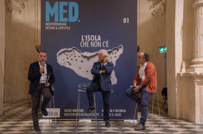 Da sinistra Gianni Portelli, Carlo Russo, Vincenzo Castellana
